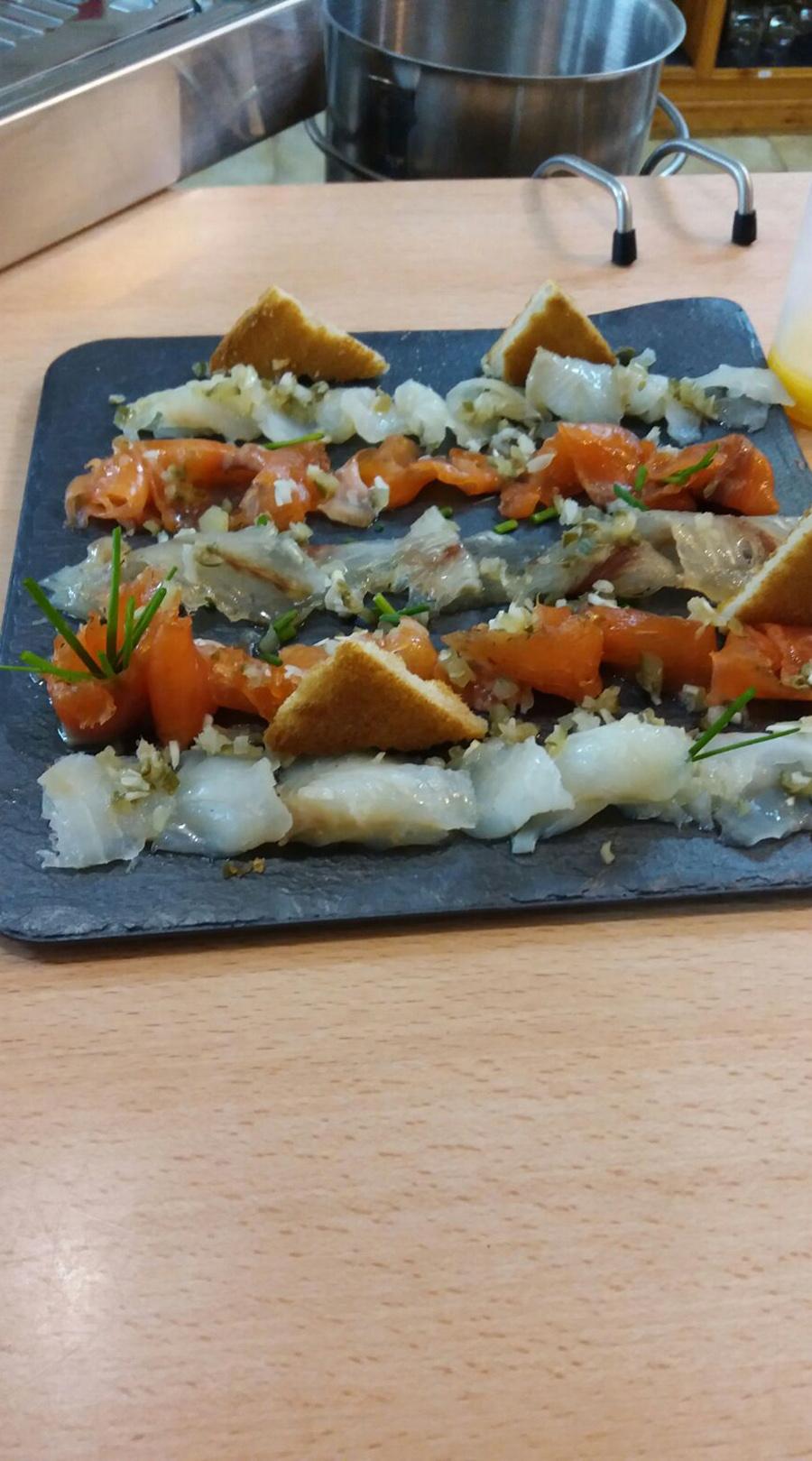 Taboa de Peixes marinados
