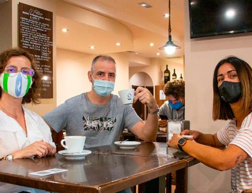 O Arteixo CCA activa nas redes sociais a campaña #EuApoio en defensa da hostalería local