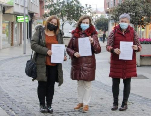 Arteixo CCA e ambulantes, unidos en defensa do Feirón