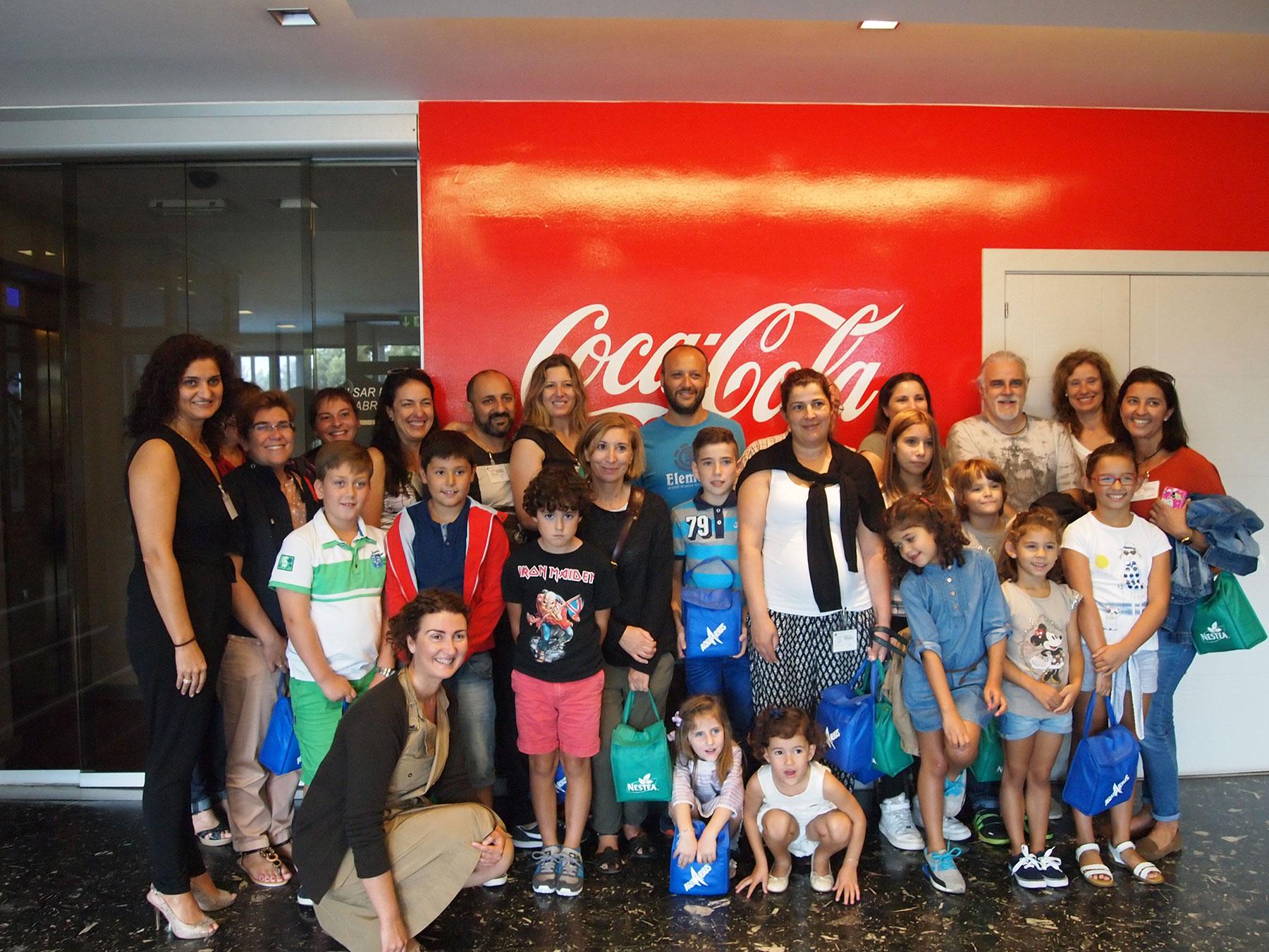 Visita á fábrica de Coca-Cola