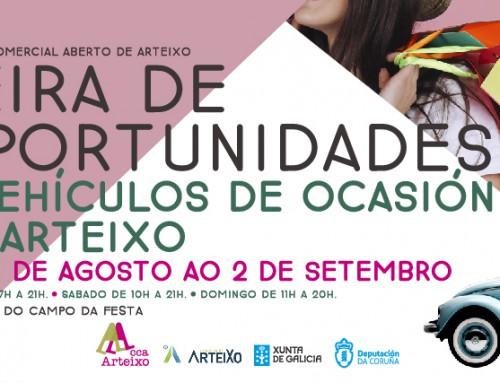 Arteixo CCA celebra su Feira de Oportunidades de Verano y la Feira de Vehículos de Ocasión – AUTO-ARTEIXO