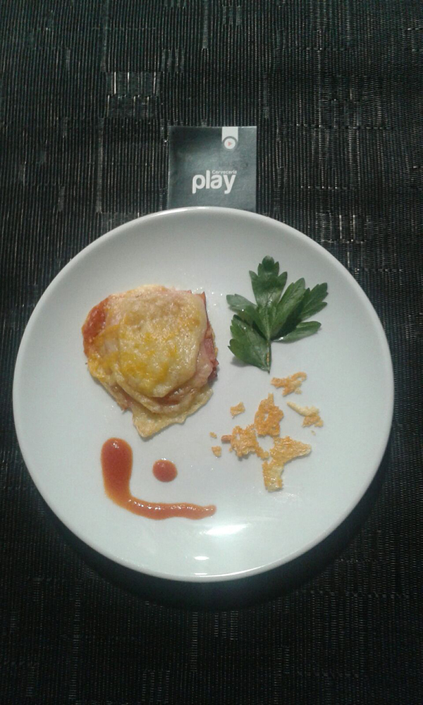 Cervecería Play - Mini-Lasagna