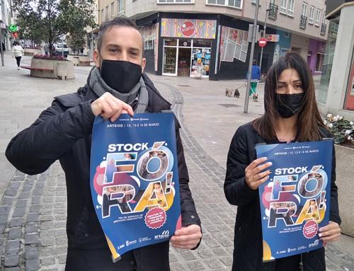 Fin de semana de premios e grandes descontos en Arteixo coa celebración do 'Stock Fóra!'