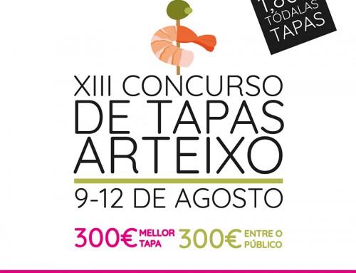 XIII Concurso de Tapas por Arteixo