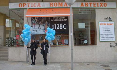 Óptica Romay - Avda. do Balneario, 48 (Arteixo 15142) | 981 601 657