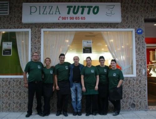 Apetéceche unha pizza? Chama a pizzería Pizza Tutto en Arteixo