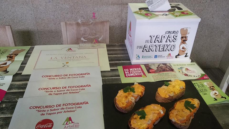 Premios Tapas por Arteixo