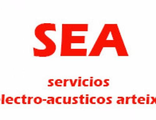 Sea (servicios electro-acústicos Arteixo)