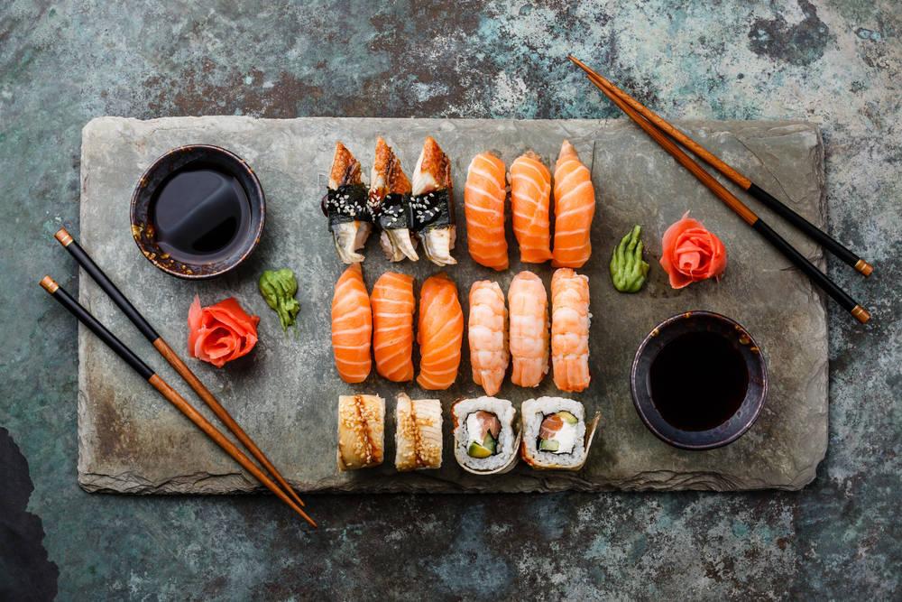 recetas de sushi casero