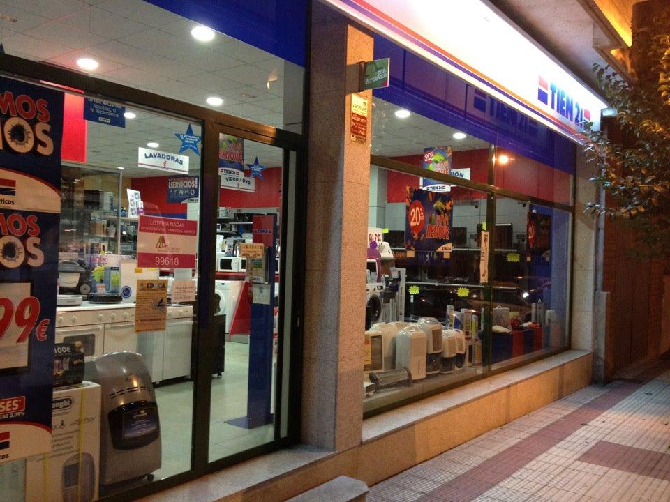 Tiendas de electrodomésticos en Arteixo